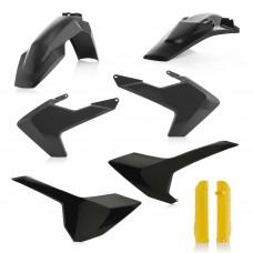 Повний комплект пластику ACERBIS HUSQVARNA FE 250/350/450/501 TE 125/250/300 17-18 чорний/жовтий