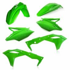 Комплект пластику KAWASAKI KXF 250 2017 зелений