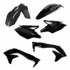 Комплект пластику KAWASAKI KXF 450 2018 чорний