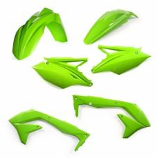 Комплект пластику KAWASAKI KXF 450 2018 зелений