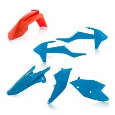 Комплект пластику KTM SX 125/150 16-18 250 17-18 SX-F 250/350/450 16-18  помаранчевий/синій