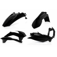 Комплект пластику KTM EXC 125/200/250/300 EXC-F 250/350/400/450/500 14-16 чорний