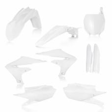 Повний комплек пластику YAMAHA YZF 450 2018 білий