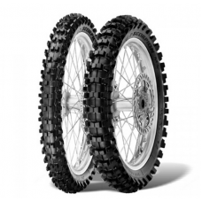 Резина PIRELLI 80/100-12 SCORPION MX 32 MID SOFT 50M 2018 (OP4666) зад