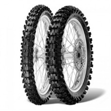 Резина PIRELLI 80/100-21 SCORPION MX 32 MID SOFT 51M 2018 MST перед