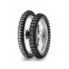 Резина PIRELLI 100/90-19 SKORPION MX32 MID SOFT 57M TT зад 2018