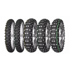 Резина MITAS 140/80-18 TERRA FORCE-EF 70R TT жовтий пасок 2019