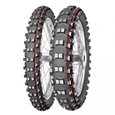 Резина MITAS 120/90-18 TERRA FORCE MX-SM SOFT/MEDIUM 65M TT червоний пасок 2019
