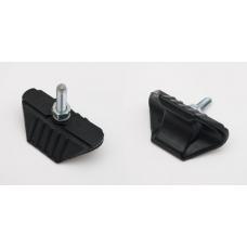 Тримач шини M&C 1,6 залитий чорний