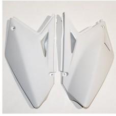 Бокові панелі зад UFO SUZUKI RMZ 250 07-09 білий