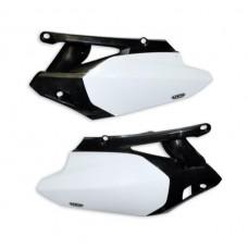 Бокові панелі зад UFO YAMAHA YZF 450 10-13 білий-чорний