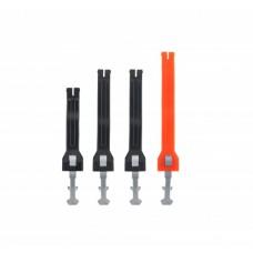 Ремні ботів ACERBIS STRAPS SET X-ROCK BOOTS помаранчевий-чорний