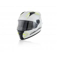 Шолом ACERBIS FS 807 FULL FACE білий/жовтий