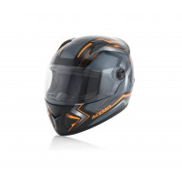 Шолом ACERBIS FS 807 FULL FACE чорний-помаранчевий