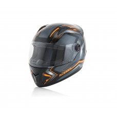 Шолом ACERBIS FS 807 FULL FACE чорний/помаранчевий