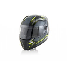 Шолом ACERBIS FS 807 FULL FACE чорний-жовтий