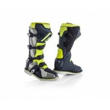 Боти ACERBIS X-PRO V BOOTS сірий-жовтий