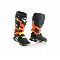 Боти ACERBIS X-ROCK чорний-помаранчевий