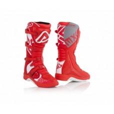Боти ACERBIS BOOTS X-TEAM білий-червоний