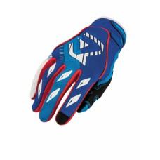 Рукавиці ACERBIS MX-X1 синій/червоний