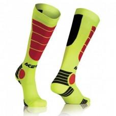 Носки ACERBIS MX IMPACT жовтий-червоний