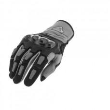 Рукавиці ACERBIS CARBON G 3.0 чорний-сірий
