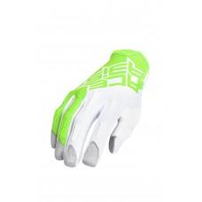 Рукавиці ACERBIS MX-X-P BASIC зелений-білий