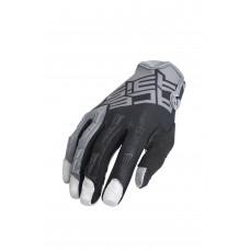 Рукавиці ACERBIS MX X-K KID сірий-чорний