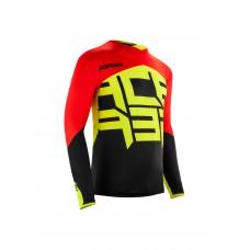 Джерсі ACERBIS ALFA X-FLEX чорний/червоний