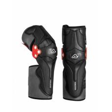 Захист колін ACERBIS X-STRONG KNEE GUARD чорний/білий