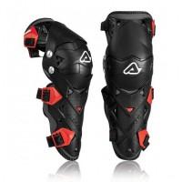 Захист колін ACERBIS GUARD IMPACT EVO 3.0 чорний-червоний