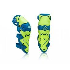 Захист колін ACERBIS GUARD IMPACT EVO 3.0 жовтий/синій