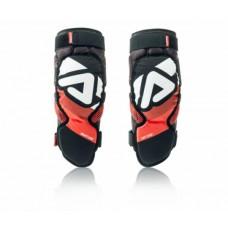 Захист колін дорослий ACERBIS SOFT 3.0 чорний/червоний