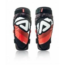 Захист колін дитячий ACERBIS KNEE GUARD SOFT JUNIOR 3.0 чорний-червоний