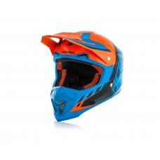 Шолом ACERBIS PROFILE 4 помаранчевий-синій