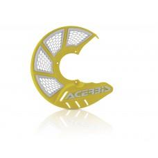 Захист гальмівного диска ACERBIS X-BRAKE 2.0 жовтий/білий
