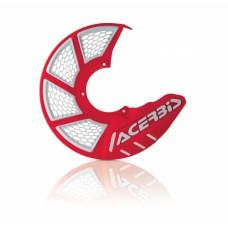 Захист гальмівного диска ACERBIS X-BRAKE 2.0 червоний-білий