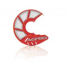 Захист гальмівного диска X-BRAKE 2.0 245 MM білий-помаранчевий