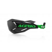 Захист рук Acerbis HANDGUARDS X-FACTORY чорний/зелений