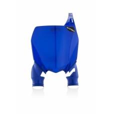 Пластина для номера FRONT NUMBER PLATES RAPTOR YAMAHA 450 2018 синій