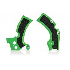 Захист рами ACERBIS X-GRIP KAWASAKI KXF 450 09-17 зелений