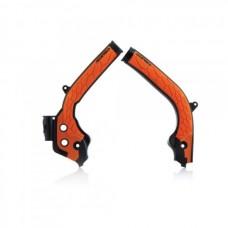 Захист рами  ACERBIS X-GRIP KTM, HUSQVARNA помаранчевий-чорний