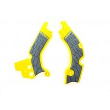 Захист рами ACERBIS X-GRIP SUZUKI RMZ 450 08-18  жовтий-сірий