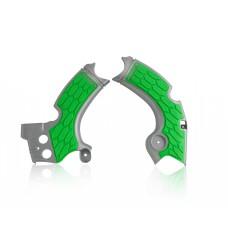 Захист рами ACERBIS X-GRIP KAWASAKI KXF 250 17-18 сірий-зелений