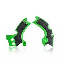 Захист рами ACERBIS X-GRIP KAWASAKI KXF 250 17-18 зелений/чорний