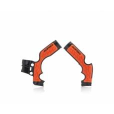 Захист рами Acerbis  X-GRIP Frameprotector KTM SX 65 14-19, HVA SX65 15-19 чорний/помаранчевий