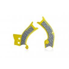 Захист рами ACERBIS X-GRIP suzuki RM-Z 450 18 жовтий/сірий