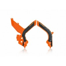 Захист рами Acerbis FRAME PROTECTOR X-GRIP KTM SX-SXF 2019 помаранчевий-чорний