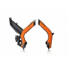 Захист рами Acerbis FRAME PROTECTOR X-GRIP KTM SX-SXF 2019 чорний-помаранчевий