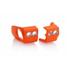 Захист вилки низ ACERBIS KTM/HUSQ SX/SXF 16-18 оранжевий